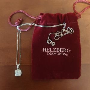 Silver necklace Halzberg